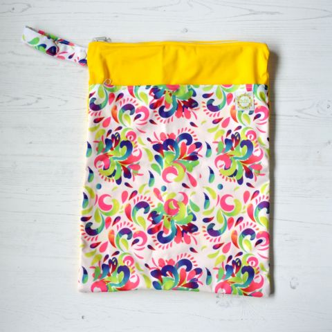 Summer Swirl - Large Wetbag